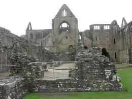 Walking around the ruins of Tintern Abbey. , Tighthead Prop - December 2010