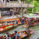 Floating Markets Day Trip from Bangkok, Hua Hin, Thailand