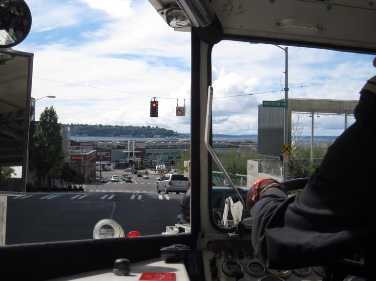 View from the Seattle Duck Tour - Seattle