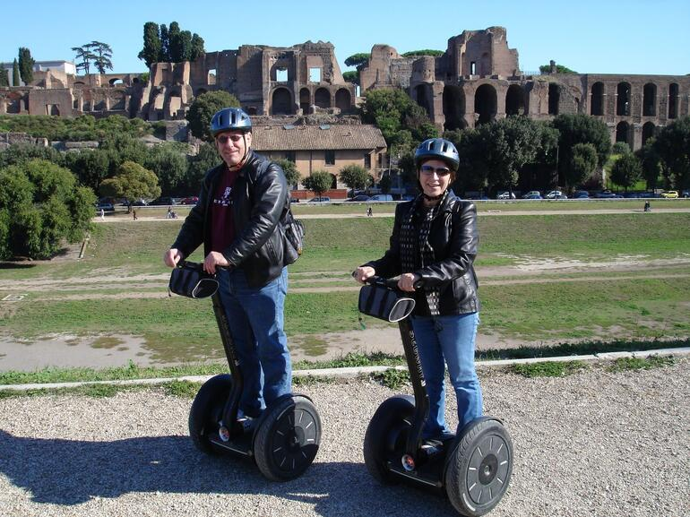 What a way to travel!! - Rome
