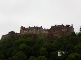special stop for photo opportunity of Sterling Castle , Heather M - July 2017