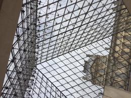Louvre looking outward , Thea B - August 2017