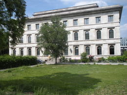 "This is the building where Hitler signed the famous agreement with Chamgerlain and Mussolini in order to ""avert"" war (which obviously didn't happen). , Thomas E - June 2011"