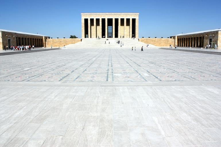 Ataturk's Mausoleum - Ankara