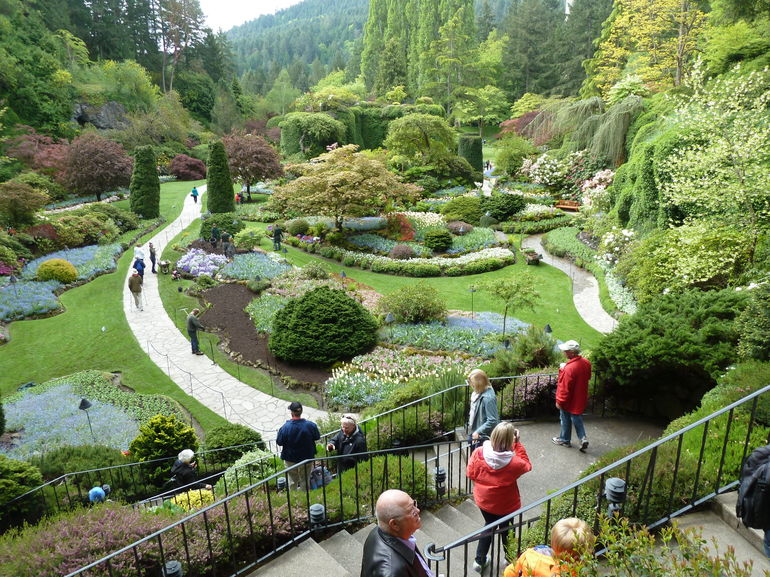 Butchart Gardens Tour from Victoria