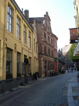 cobblestone street, Patricia J Dunn - October 2009