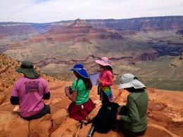 Nice group shot at the Grand Canyon, World Traveler - January 2014