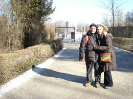 My husband and I. The guide used a very good strategy to show us the place. She started from where people used to arrive there up to the point they were killed. Very sad place, but worth to visit,..., VANE G - March 2011