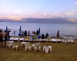 You really do float in the Dead Sea. Don't forget to take your swimming costume and a towel. , Nicholas R - March 2012