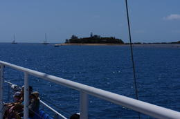 Sailing up to Low Isles for the day. , Vivian J - September 2012