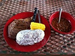 The cowboy meal is more than any cowgirl or cowboy could ask for! Fabulous!!, charley - May 2012
