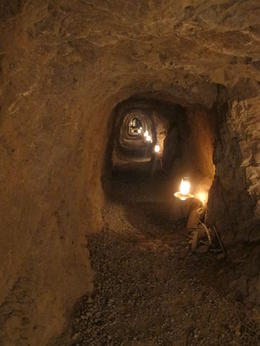 Inside the gold mine , James S - August 2011