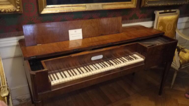 Instrumentos en visita a la Scala de Mil�n - Milan