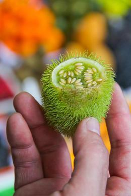 Exotic fruits at the market - January 2014