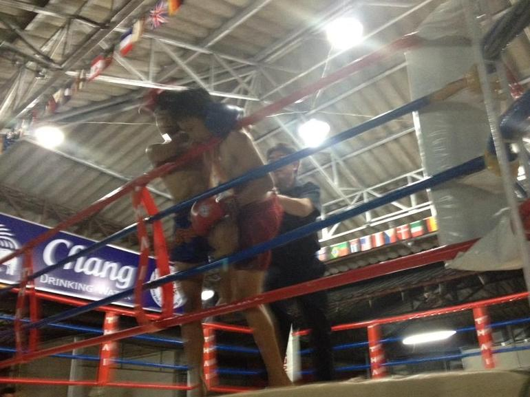 Muay Thai boxing match - Bangkok