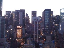View from the 23rd floor of the Beekman Tower Hotel. - September 2008
