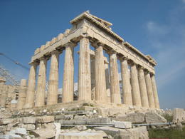Temple was built as a tribute to the goddess Athena , tonymichelle922 - June 2011