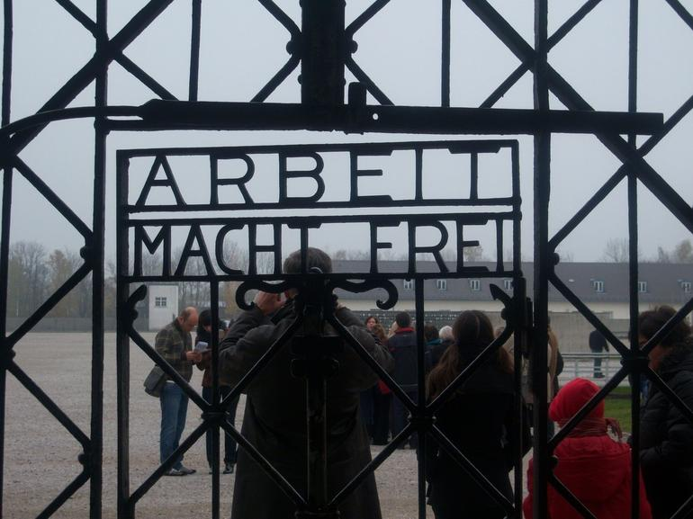 The entrance - Munich