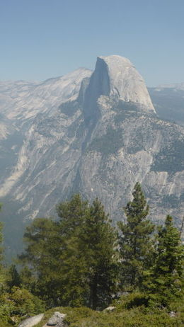 View of Half Dome from Glacier Point , violsaustralia - September 2015