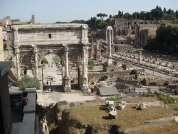 This was taken on our half-day tour of ancient Rome., Sharon W - September 2008
