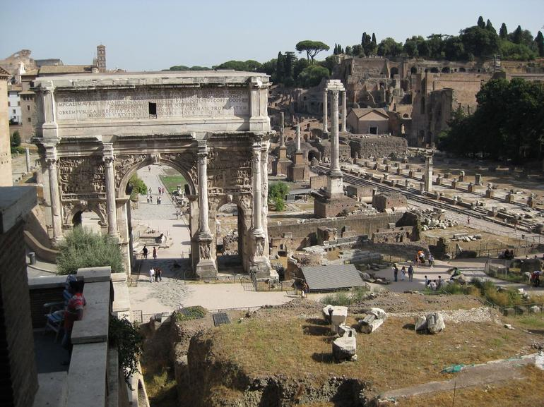 Ancient Ruins in Rome - Rome