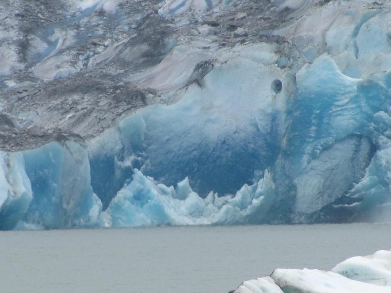 blue ice - Juneau
