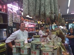 As we did our food tour the butchers , Jessica B - October 2015