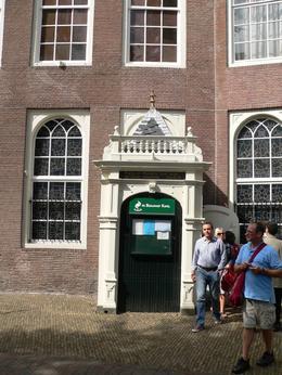This is the door to the hidden church at Begijnhof, Judith S - October 2009