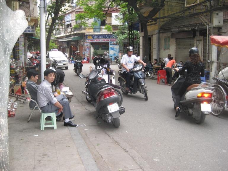 Drinking Coffee in Old Hanoi - Hanoi