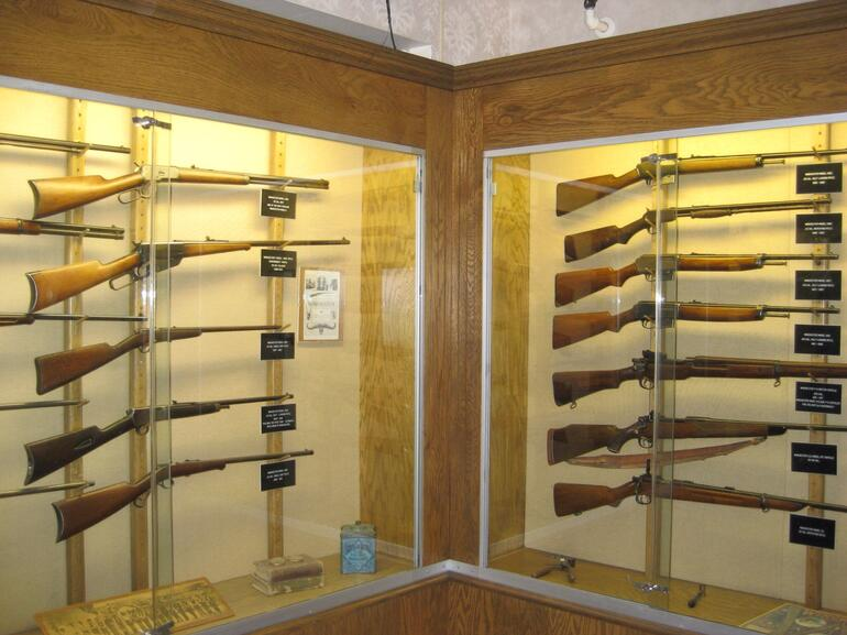 Guns in the museum - San Francisco