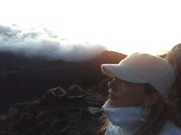 Nice picture watching the Haleakala Maui Sunrise , Lore - November 2015