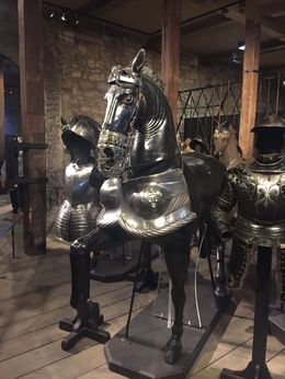 Interior of Tower of London , Wolf - November 2015