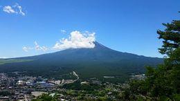View near Lake Kawaguchiko , Nicole J - August 2015