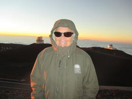 They get your size and furnish you with a parka to wear, as it gets very cold when the sun goes down , Robert W - November 2014