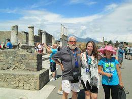 Standing in the forum area , Pamela R - August 2015
