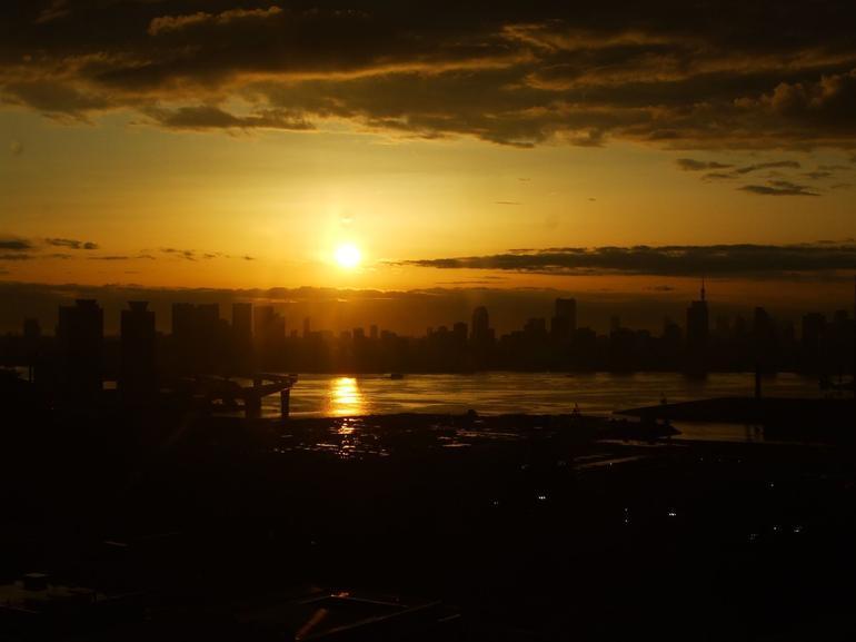 Sunset view - Tokyo