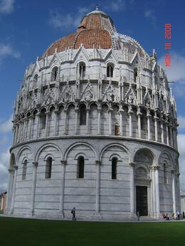 The Baptistry in Pisa., Nabarun N - June 2008