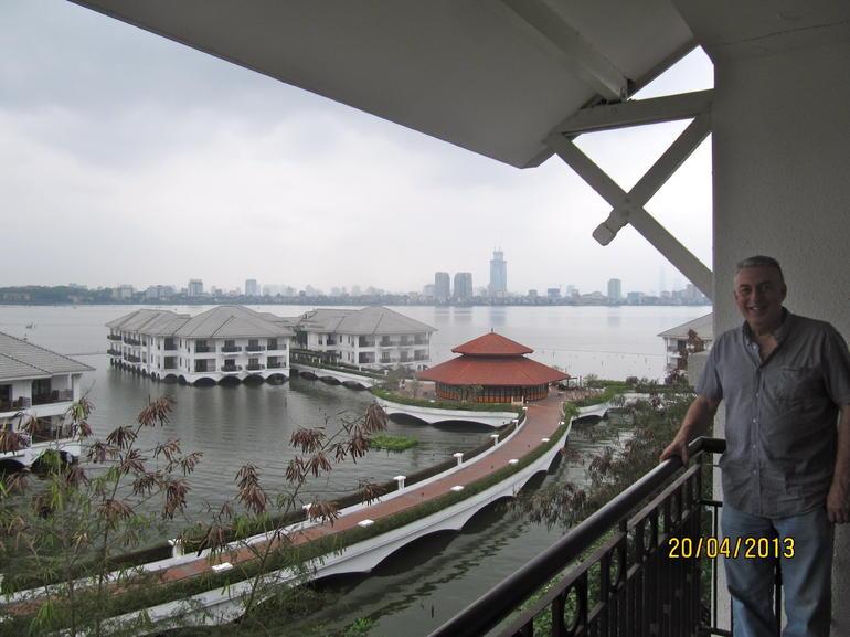 View from our balcony Intercontinental Hanoi - Hanoi