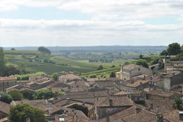 Great view over the village of St. Emilion , Timothy C - September 2014