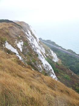 The White Cliffs of Dover from the Lighthouse where we ate lunch., William L - January 2010