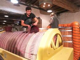 Winemakers in action. , David S - October 2016