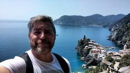 Me Gary hiking in Cinque Terre , Gary K - June 2017