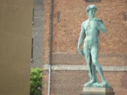 statue of david , m w - June 2017