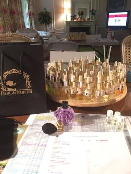 Perfume scents with the finished product! , Ann K - June 2017