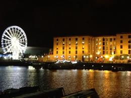 Beautiful view of the Albert Dock at night after a lovely weekend away in Liverpool. , Hoppy - September 2013
