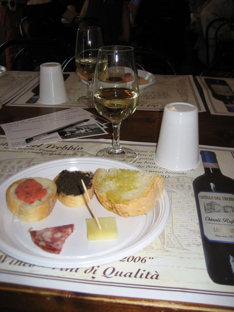 Appetizers and wine !! - Florence