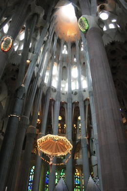 Inside La Sagrada Familia , Saysha - June 2013