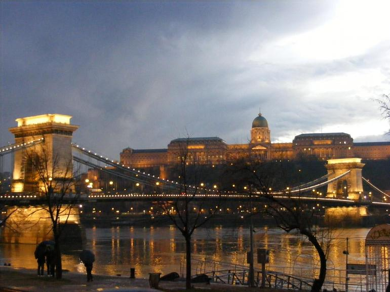 Chain Bridge and Royal Palace - Budapest