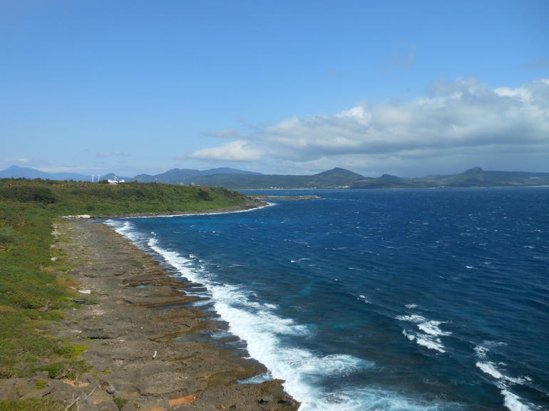Coastline near southern tip of Taiwan -
