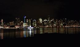 Downtown Vancouver at night , Kayla C - November 2011